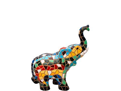 Figura Elefante Mosaico. Figura Decorativa. Figura Elefante Mosaico.