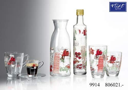 Flirt by R&B Glas-Serie Palermo Größe 6er Wasserglas 310 ml Palermo