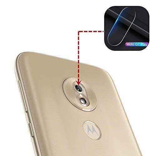 Displayschutzfolie für Motorola G7 Play Back Kamera Linse, 2 [Pack] Ultra dünne HD Displayschutzfolie Soft Film für Motorola Moto G7 Play (Motorola Moto Mini)
