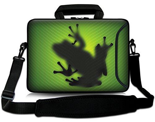 Sidorenko 15-15,6 Zoll Laptoptasche | Laptop Umhängetasche: Stilvolle Designer - Computer - Notebook-Schultertasche aus Neopren Schmutz- und Wasserabweisend | Notebook-Tasche mit Außentasche für Zubehör (Designer-laptop-tasche)