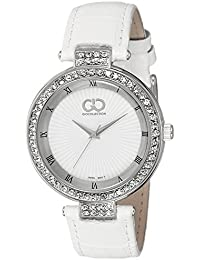 Gio Collection Analog White Dial Women's Watch - G0058-01
