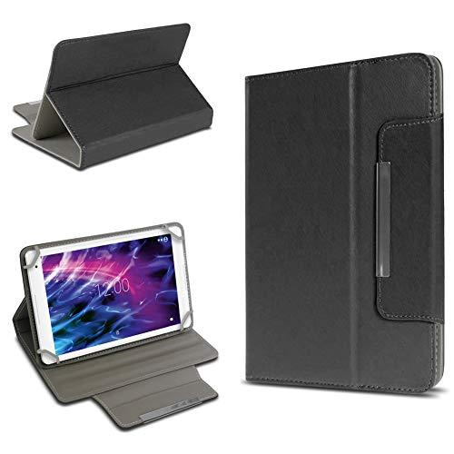 UC-Express Robuste Schutzhülle für Medion Lifetab P8524 Tablet Standfunktion Hülle Schutztasche Ständer Tasche Cover Case, Farben:Schwarz