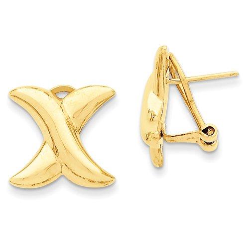 14k oro bianco Claddagh Ciondolo Croce celtica da UKGems - 14k White Gold Celtic Claddagh (Oro Celtica Claddagh Croce)