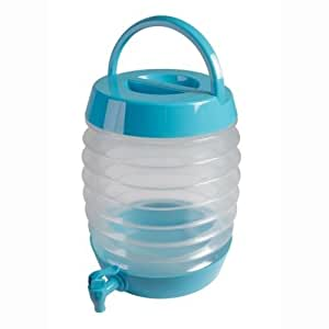 Smartslide 3.5L Folding kettle Collapsible Water Container Bucket With Tap Expandable Jug