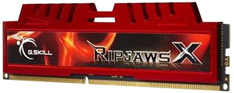 G.Skill Ripjaws-X Arbeitspeicher 8GB (1600MHz, 240-polig, CL10) DIMM DDR3-RAM Kit