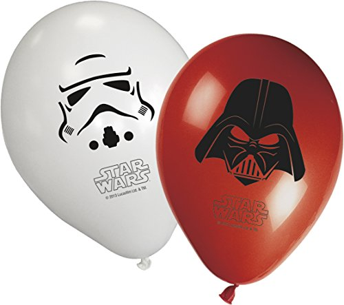 Unqiue Party - Globos 11 pulgadas- Star Wars - 8 uds