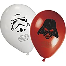 Unqiue Party - Globos 11 pulgadas- Star Wars - 8 uds