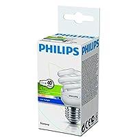 Philips Economy Twister Normal Duylu Enerji Tasarruflu Ampul, 8W Cdl E27 220-240V 1Pf/6