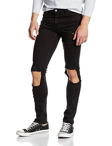 cheap-monday-mens-tight-slim-jeans-black-destroy-w33-l32