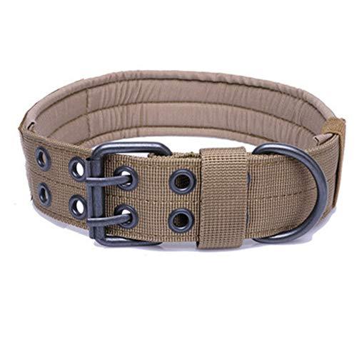 MYYXGS Boutique Summer weiches und verstellbares Hundehalsband aus Leder Verstellbarer Schultergurt, 5 Löcher, abhängig vom Halsumfang des Hundes M 31-45cm -
