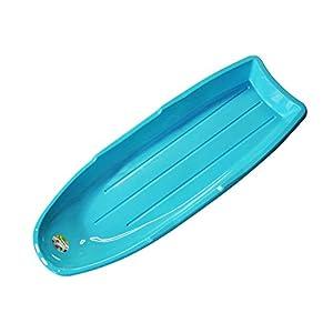 Snow Rodelschlitten für Outdoor Winter Slider Downhill Snow Board für Kinder und Erwachsene,Blue,120 * 45 * 12cm