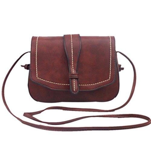 Umhängetasche,Amlaiworld Women Fashion Handtasche Schultertasche grosser Shopper Damen Handtasche (braun)