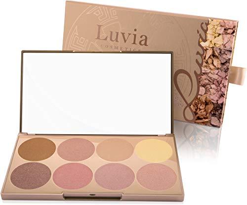 Luvia Cosmetics - Highlighter Palette - Prime Glow Mit Extra Feiner Schimmer Und Easy To Blend Textur Für Jeden Hauttyp