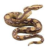 STOBOK Realistic Snake Toy Rubber Snake Figure Prank ToyHalloween Bomboniere per Feste