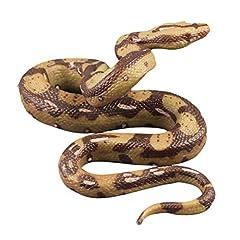 Idea Regalo - TOYMYTOY High Simulation Python Model Toy Big Realistic Snake Halloween Tricky Creepy Scherzo Spaventoso Snake Toy