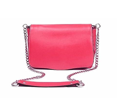PACK Sac à Bandoulière Style Universitaire Sac à Main à Main Manches Longues Pour Femmes Porte-sac à Main Introverti Easy Care Handbags Chic,A:Pink