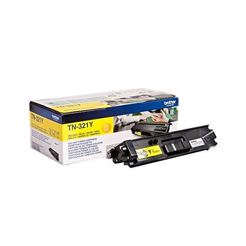 Brother Original Tonerkassette TN-321Y gelb (für Brother DCP-L8400CDN, DCP-L8450CDW, HL-L8250CDN, HL-L8350CDW, MFC-L8650CDW, MFC-L8850CDW) -