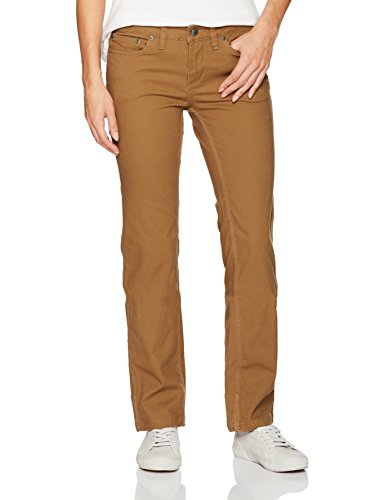 Mountain Khakis Camber 106 Damen Hose Classic Fit, Tobacco, 0 Regular -