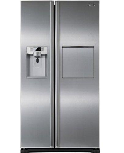 Samsung RSG5PUSL frigo américain - frigos américains (Autonome, Argent, Américain, A+, N-T, Bord)