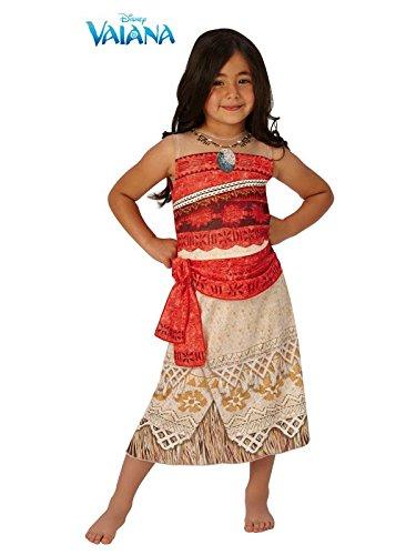 Disfraz Vaiana Disney niña - Único, 3 a 5 años