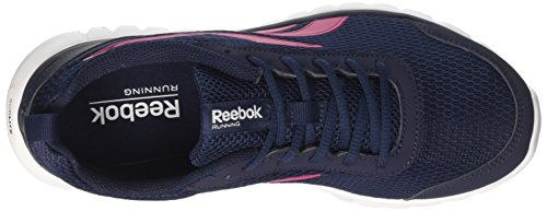 Reebok Damen Sublite Sport Joggingschuhe Mehrfarbig (Navy/pink/white)