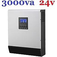 Investitore/Caricabatterie Ibrido Onda Pura 3000 Va 24 V 220 V