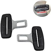 2x Anti Gurtstecker Gurtwarner Gurtschloss Gurtalarm Auto Gurte Alarm Stopper Gurtadapter Carbon Universal für die meisten des Autos