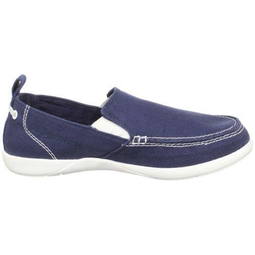 Crocs Walu, Espadrilles homme Bleu (Navy/White)