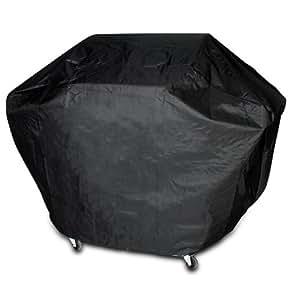 Broil-master - Housse bâche de protection pour barbecue - 170 x 115 x 65 cm - fermeture à bande velcro - matière PVC