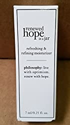 Philosophy Renewed HOPE in a jar Refreshing Refining Moisturizer 0. 25 oz cream