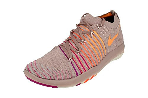 NIKE Free Transform Flyknit Damen Running 833410 Sneakers Turnschuhe (UK 4.5 US 7 EU 38, Plum Fog Peach Cream 502)