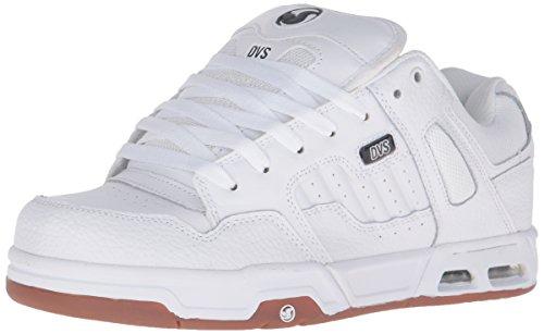 DVS SHOESENDURO HEIR - Scarpe da Skateboard Uomo , Bianco (Weiß (WHT WHT GUM 110)), 42