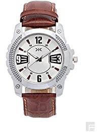 KILLER Analogue White Dial Men's Watch - KLW169SL