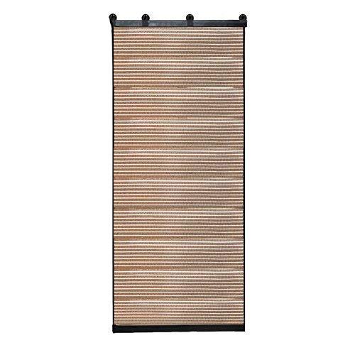 Finmind poliestere finestra termico tende a rullo ombra veneziana bretelle oscurante casa ufficio cucina 126x 60.5cm (marrone)