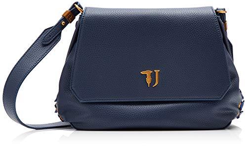 47a4afe6ce Trussardi Jeans Lavanda Shoulder Bag, Borsa a Tracolla Donna, 28x20x9 cm (W  x H x L)