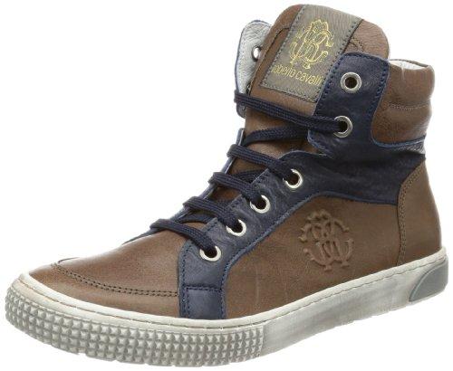 roberto-cavalli-sneaker-scarpe-da-ginnastica-alte-bambino-marrone-braun-tdm-blu-33