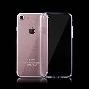 I Save Ultra Thin Soft Silicone Back Case Cover for Apple iPhone 7 ,Transparent