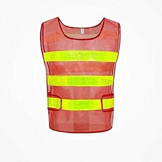 SXY Chaleco de seguridad reflectante Seguridad de alta visibilidad Construcción Trabajo Tráfico Ropa de seguridad reflectante Uniforme de tela