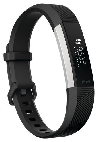 Fitbit Alta HR Activity Tracker and Fitness Watch with Wrist Based Heart Rate Monitor – Black/Small