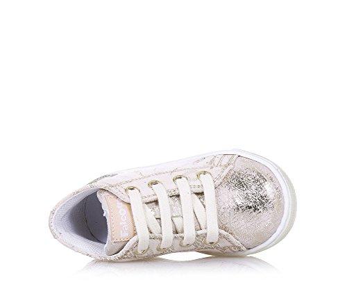 FALCOTTO -Chaussure à lacets beige en cuir, idéale pour les premiers pas et pour ramper, lacets beige, Fille, Filles Beige
