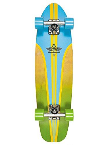Dusters Longboard Deck Glassy Pinstripe Fiberglass Blue 29