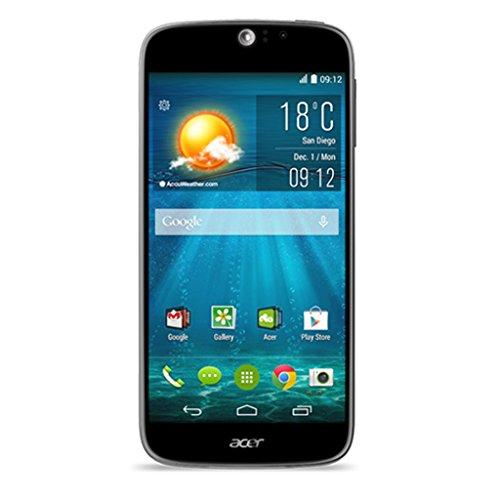Acer Liquid JADE S MT6752M Smartphone (12,7 cm (5 Zoll) HD IPS Touchscreen, 1,5GHz, Octa-Core Prozessor, 2GB RAM, 16GB Speicher, 13 Megapixel, Android 4.4) schwarz