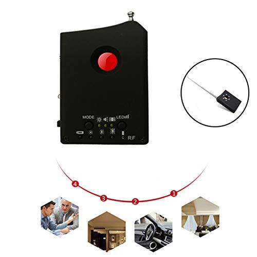 HWUKONG Verdeckte Kamera Mini, Infrarot-Scan-Anti-Spion-Detektor, RF-Signal-Detektor Spy Cam, GSM, Audio-Schwachstellen-Detektor GPS-Linse RF-Signal-Detektor