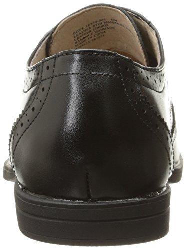 Florsheim Reveal Wing, Chaussures à lacets Garçon Noir (Black)