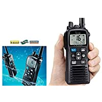 Icom IC-M73 Euro Plus Receptor VHF náutico 6 W RF, flotante, micrófono de cancelación de ruido, IPX8