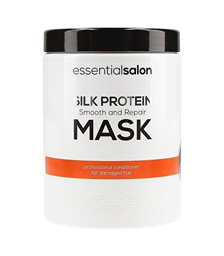 essentialsalon regenerierende und glättende Haarmaske mit Seidenproteinen - 1 Liter !