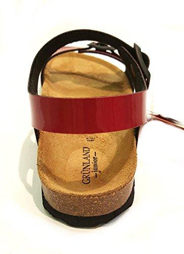 Grunland SB0434-40 Sandale Fille Rouge