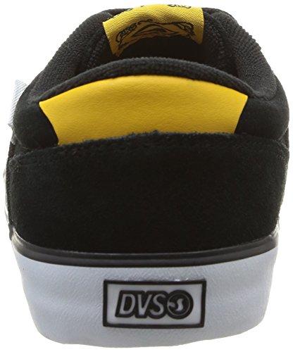 DVS - Scarpe da ginnastica, Uomo Nero (Noir (Black Suede Cliché))