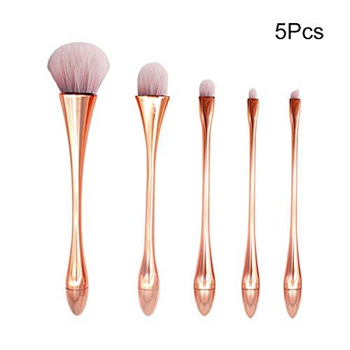Make Up Pinsel Set 5 STÜCKE Schönheit Make Up Tool Lose Puderpinsel Kleine Taille Geformte Make Up...