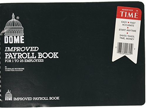 Dome - Payroll Books, 1-25 Employees, 10